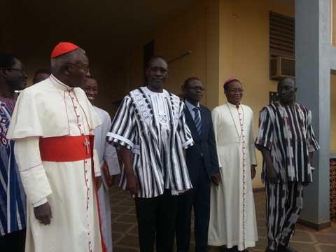 Fin de la transition: Yacouba Isaac Zida fait ses adieux aux responsables religieux