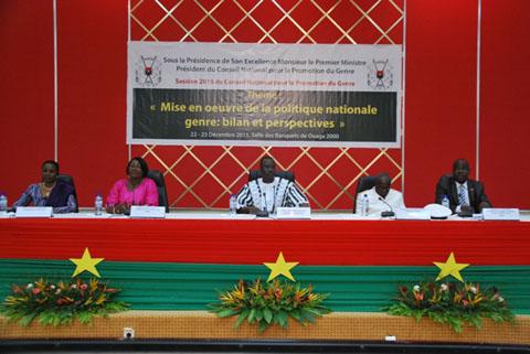 Politique nationale genre au Burkina Faso: quel intérêt pour la promotion du genre après 5 années?