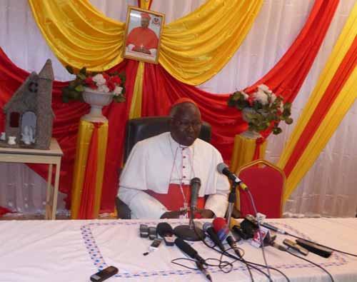 Message du Cardinal Philippe Ouédraogo à l'occasion des fêtes de Noël et du nouvel an: «Nous avons toujours vu la main de Dieu qui a protégé le peuple burkinabè»