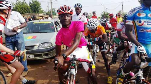 Cyclisme: Abdoul Aziz Nikiema arrête pour un an