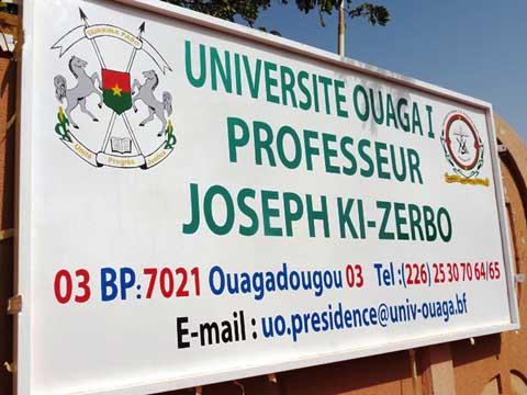 Enseignement supérieur: L'Université de Ouagadougou devient l'«Université Ouaga 1 Professeur Joseph Ki-Zerbo»