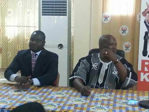 Le Cadre de concertation de partis politiques félicite Roch Kaboré pour son élection