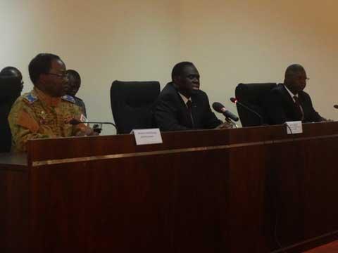 Ministère de la Défense nationale et des Anciens combattants: Michel Kafando a fait ses adieux au personnel