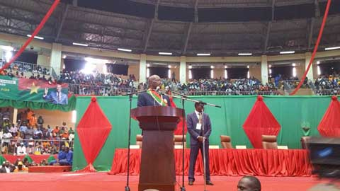 Discours d'investiture du Président Roch Marc Christian KABORE