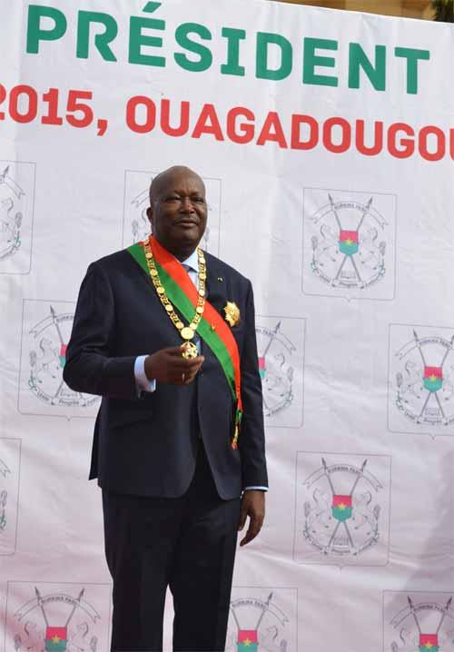 Roch Marc Christian Kaboré, président: Tout est enfin accompli!