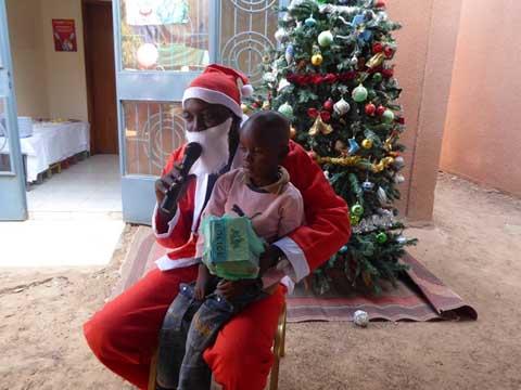 Noël à la fondation Lucie Kaboré/Traoré: «Un instant de bonheur avec les orphelins»