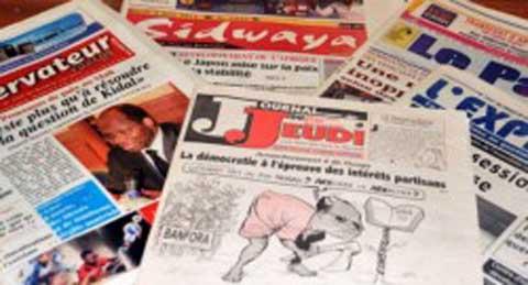 Liberté de la presse: Le Burkina meilleur élève de l'Afrique francophone, selon RSF