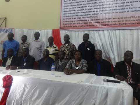Congrès ordinaire du SYNTSHA: Pissyamba Ouédraogo est le nouveau secrétaire général