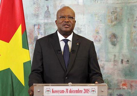 Message à la nation de son excellence monsieur Roch Marc Christian Kabore, président du Faso, chef de l'Etat à l'occasion du nouvel an 2016
