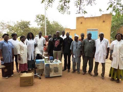 Santé: L'Association Zood-Yinga vole au secours du centre médical de Tanghin-Dassouri