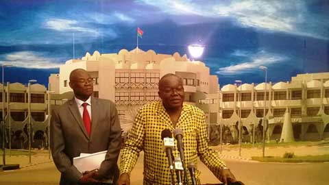 Présidence du Faso: Roch Kaboré reçoit plusieurs présidents d'institutions
