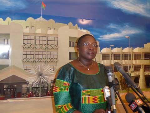 Audiences à Kosyam: Le  Médiateur du Faso et la présidente de la CIL étaient chez le président du Faso