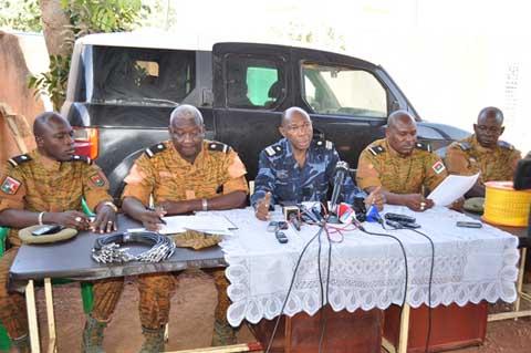 Ville de Ouagadougou: Des explosifs saisis par la gendarmerie