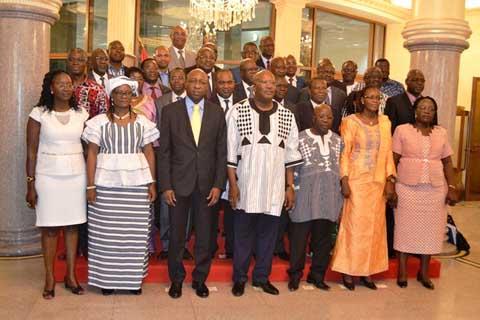 Premier contact du gouvernement Thiéba 1: Heureux comme un nouveau ministre