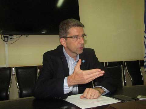 Marc Rubin, représentant résident de l'UNICEF en fin de mission: «J'ai retenu une grande leçon de paix au Burkina»