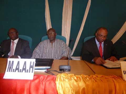 Gouvernement  Paul Thiéba: L'installation des ministres s'est poursuivie ce mardi
