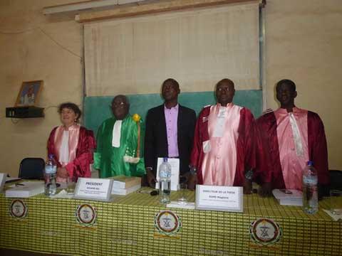 Soutenance de  thèse en histoire: Boubié Bazié analyse la  colonisation des Lobi du Burkina par la  France