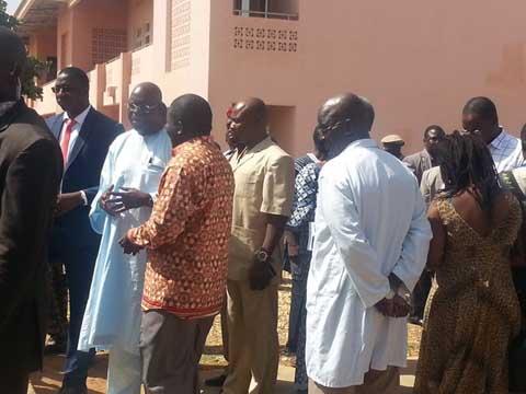 Attaques terroristes au Burkina: Les parlementaires au chevet des blessés