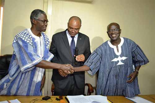 Ministère de l'Education nationale et de l'alphabétisation: Jean-Martin Coulibaly fait sa rentrée