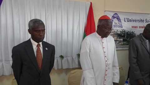 Université Saint Thomas d'Aquin: «La vie est un jeu de forces et la langue a un pouvoir», dixit Tulinabo Mushingi