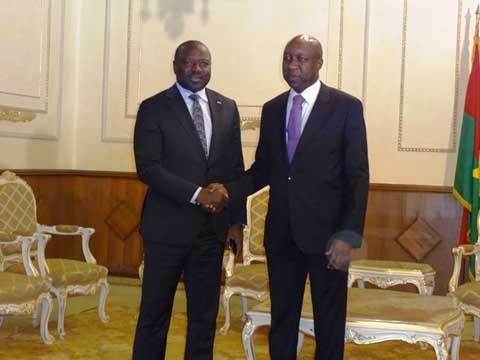 Premier ministère: le patron de la vigie des essais nucléaires félicite Paul Kaba Thiéba