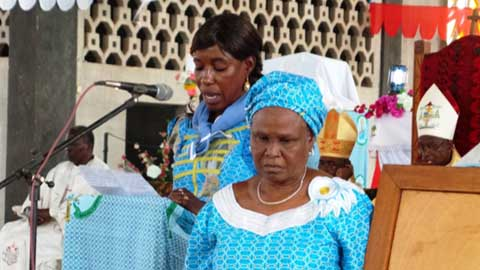 Les femmes catholiques de la province ecclésiastique de Bobo se donnent rendez-vous à Nouna en  2018