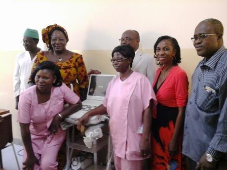 CHUSS de Bobo: L'association Maia fait un don de matériel à la maternité