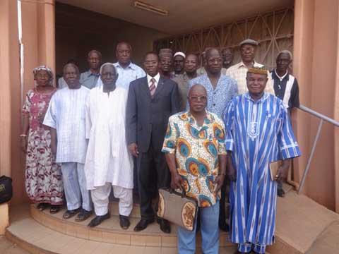 Ministère de la fonction publique: Clément Sawadogo a rencontré les retraités