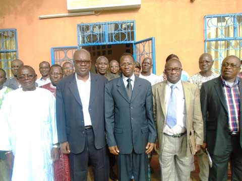 Le Ministre de la Fonction Publique, du Travail et de la Protection Sociale, Clément SAWADOGO au Patronat burkinabé