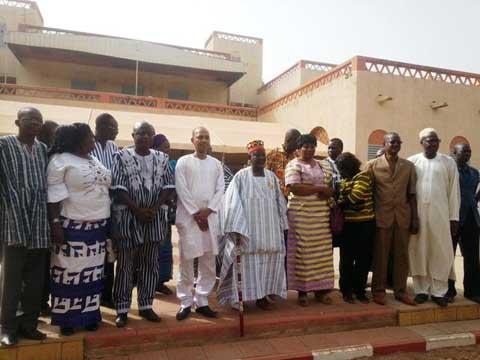 Le ministre de la culture, Tahirou Barry  était chez le Mogho Naba