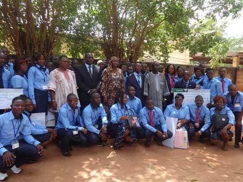 Ecole nationale des postes: 70 professionnels aptes à servir