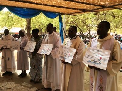 Eglise famille de Dieu Burkina/ Niger: Clôture de l'année de la vie consacrée à Koudougou