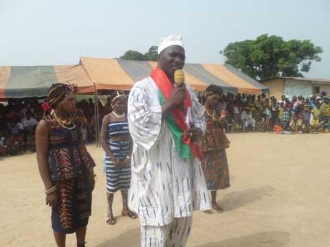 Investiture du N23 à Dassioko et Kpata-Abidou - Moumouni Pograwa à ses compatriotes: '' Grâce au N23, un ministère est dédié à la diaspora''