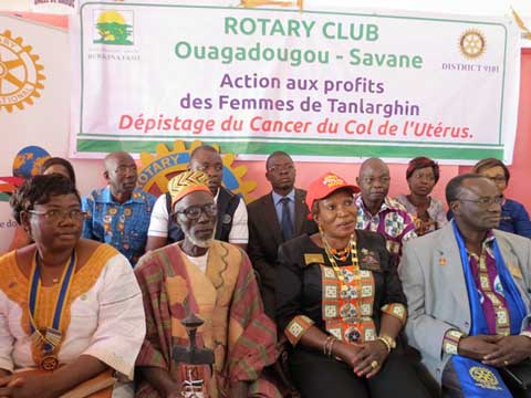 District 9101 du Rotary international : Marie-Irène Richmond Ahoua « ne regrette pas d'être venue » au Burkina Faso