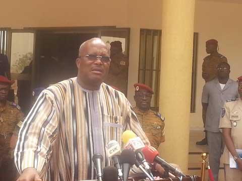 Réforme de l'armée: «Il faut que les vérités soient dites», dixit Roch March Christian Kaboré
