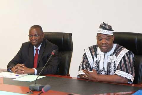 Présidence du Faso: Mathieu TANKOANO passe le témoin à Seydou ZAGRE comme Directeur de Cabinet