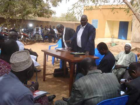 CDP/Yatenga: Le bilan des élections couplées et la stratégie à adopter aux municipales au centre des échanges