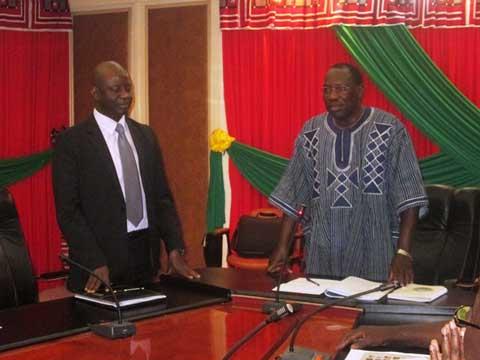 Direction de cabinet du premier Ministère: Job Ouédraogo a passé le témoin à Mamadou Sérémé
