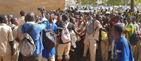 Mouvement d'humeur au lycée Bogodogo: Des élèves récusent l'Association des parents d'élèves