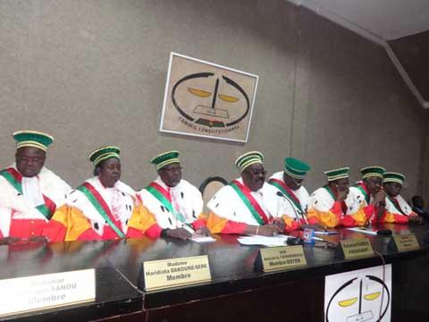 Conseil constitutionnel: Les membres du Haut conseil pour la réconciliation et l'Unité nationale ont prêté serment
