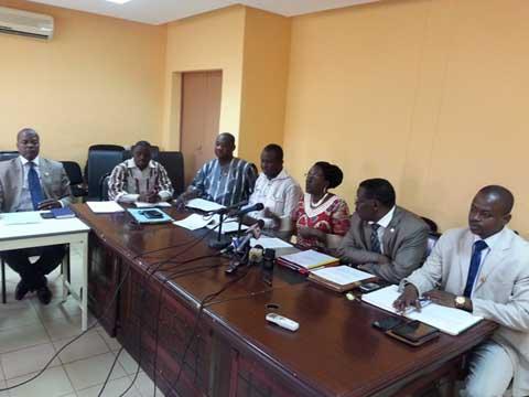 Assemblée nationale: Le Groupe parlementaire «Paix-justice et réconciliation nationale» fait le bilan des sessions écoulées