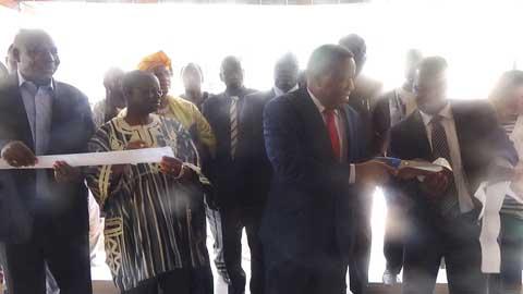 Le fonds national pour l'éducation et la recherche: L'antenne régionale de Bobo inaugurée