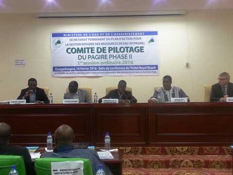 Session ordinaire du PAGIRE: Les acteurs entre bilan et perspectives