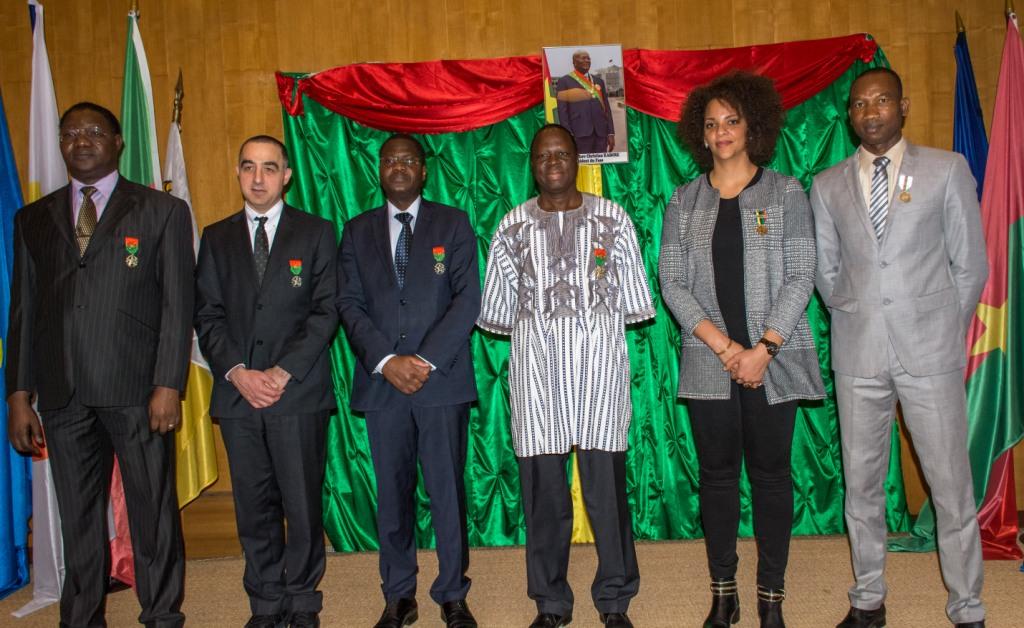 Distinctions honorifiques: L'Ambassade du Burkina Faso à Paris décore des personnalités