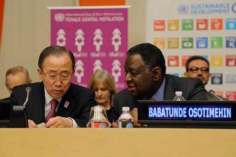 Tolérance zéro  aux MGF: Les Nations Unies ont célébré la journée