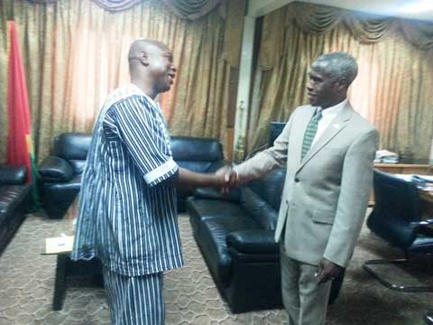 Mines et énergie: L'ambassadeur américain a échangé avec le ministre Dissa
