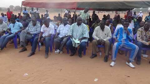 MPP/HOUET: Meeting de remerciement à la section du secteur 25 de Bobo