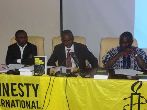 Rapport 2015-2016 d'Amnesty international: Le Burkina épinglé à cause du coup d'Etat du RSP