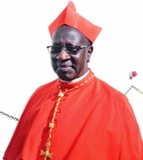 La Cardinal SARR à propos de l'assemblée des évêques à Accra