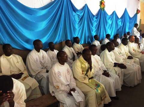 Célébration de la messe chrismale Ouagadougou